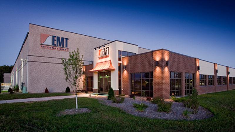 emt-Firmengebäude