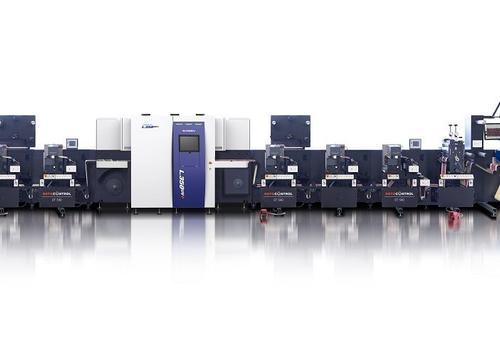 Hybrid-Etikettendruck – Screen und Rotocontrol