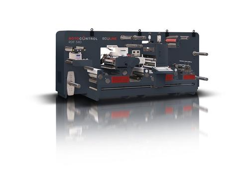ROTOCONTROL ECOline RDF-350 digital label converting and finishing system