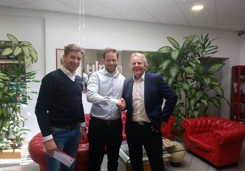 Mag. Florian Ulrich (Ulrich Etiketten), Dr. Rainer Ulrich (Ulrich Etiketten), & Martin Vogel (Printcon)