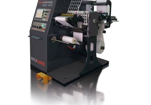 Ecoline RDS 330 die-cutting/inspection machine